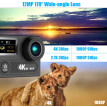 "2"" Dual Screen LCD Sports Action Camera Ultra HD 360 VR Play Wifi 4K 30fps 1080P 60fps 12MP 170° Wide-angle for High Definition Mu"
