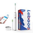 Lebooo electric toothbrush adult oral care gift gift smart APP control sonic induction charging starlight white