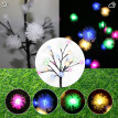 Siaonvr LED Solar Power Tree Light Garden Outdoor Yard Lawn Landscape Lamp Decor