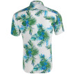 Tailored Summer Casual Fashion Mens 3D Color Print Trend Color Short-sleeved Shirt Blouse