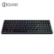 iQunix F96- Carbon Black Edition Mechanical Keyboard Wireless Bluetooth Keyboard Gaming Keyboard CNC Aluminum Alloy Shell 100 Keys Cherry Axis RGB Backlight Chicken Keyboard Tea Axis