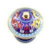 WANG KE MAN cloisonne copper hot pot liquid alcohol stove home 5203