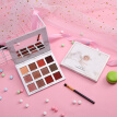 12 colors Marble Matte Eye Shadow Palette Eyes Pigment Powder Waterproof Eye Shadow