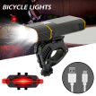 USB Rechargeable Bicycle Light with Power Bank Function & Intelligent LED