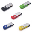 USB Flash Drive 4G USB 2.0 Memory Storage U Disk Candy Color(Black)