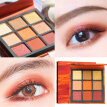 9 Colors Nude Shining Eyeshadow Palette Waterproof Smoky Eye Shadow Pallete Matt Powder Make UP Beauty Cosmetics