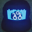 New Hot Party Led Lights Sound Activated Glow In Dark Hat Light Up LED Fancy Dress Dance Party Hat Halloween Cosplay