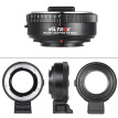 VILTROX NF-M4/3 Mount Adapter Ring for Nikon G/F/AI/S/D Type Lens to M4/3 Mount Camera for Panasonic GF1/GF2/GF3/GF5/GF6/G1 for Ol