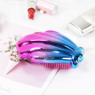 Youjia (UPLUS) portable mini shell models Shun hair comb gradient color (hair comb wet and dry comb comb shape hair comb unisex)