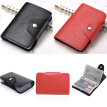 Womens Pouch ID Credit Card Wallet Cash Holder Organizer Case Box Pocket Card Holder NEW