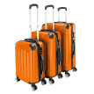 "3Pcs 20/24/28"" Luggage Travel Bag TSA Lock ABS Trolley Carry Suitcase"