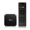 X96mini Smart Android 7.1.2 TV Box Amlogic S905W Quad Core H.265 VP9 HDR10 Mini PC 2GB / 16GB DLNA WiFi LAN HD Media Player EU Plu