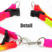 Pet Harnesses Leads Rainbow Leash Puppy Pet Leash Chest Back Color Dog Leash Traction Rope Harness Medium Harness Vest Pink