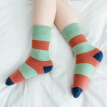 9i9 5 double autumn and winter striped baby socks 1900303 B models 9-12 years old