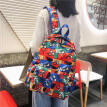 Ins backpack tide brand large capacity schoolbag nylon cloth Japanese double shoulder bag fashion