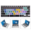 Greensen Dustproof Waterproof Silicone English Keyboard Cover Skin with AI Function for Macbook Pro Air