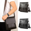 1PCS Men Bag Briefcase Business Messenger Crossbody Shoulder Bags Brown Black