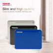 "Toshiba Canvio Connect II USB 3.0 2.5"" 2TB Portable External Hard Disk Drive Mobile HDD Desktop Laptop Encryption HDTC920YK3AA"