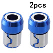 2Pcs/Set Screwdriver Bits Magnetic Ring 1/4 Metal Strong Magnetizer Screw Tools