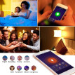 2198 Smart WIFI LED Bulb WIFI Light RGB Multicolor LED Bulb 9W E26/27 Dimmable Light Phone Remote Control Compatible with Alexa Go