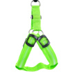Pet Dog LED Glowing Harnesses Battery Operated Light Chest Strap Puppy Dog Fashion Glow Nylon Harnesses Outdoor Walking Supplies