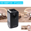 HD 1080P Mini 720 Degree Wireless WiFi VR IP Camera Full View Fish Eye Panoramic Indoor Security Camera Support Phone APP Remote C