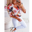 Womens Short Sleeve Loose Floral T Shirts Ladies Summer Casual Blouse Tops Shirt