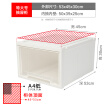 JEKO&JEKO transparent plastic baby sewing cabinet extra large 3 Pack children's wardrobe storage box chest of drawers storage cabinet finishing storage box drawer storage cabinet SWB-5413