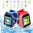 "Kids Smart Watch Phone for Children Girls Boys 1.44"" Touch Screen IP67 Waterproof GPS Locator Tracker SOS Call Anti-Lost Monitor W"