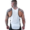 Mens Casual Vest Tops Sports Fitness Work-Out Sleeveless Slim Fit Cotton Shirt