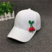 Hat Women summer cap Korean cherry baseball cap men's fashion summer outing sunshade and sunscreen hat