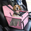 Siaonvr Collapsible Pet Dog Booster Car Seat Cat Car Carrier And Zipper Storage Pocket