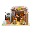 Siaonvr 3D Wooden DIY Miniature Dollhouse Classroom Decorate Creative Toy Crafts Gifts