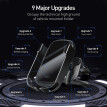 Baseus Rock-solid Electric Holder Wireless charger Automatic infrared induction car charger for iphone/Huawei/Samsung/Mi