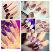 nomeni 6Pcs Gel Nail Polish Set UV LED Soak Off Gel Nail Art Kit Perfect Charm Color