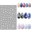 Christmas Nail Sticker Watermark art decoration slider Manicure Sticker Big Full Snowflake Watermark Beauty Health Nail Art Tool