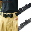 New Casual Men's Belt Polyester Nylon Magnetic Buckle Lightweight Joker Belt Tactical Belt