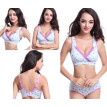 Fashion Pregnant Women Nursing Cotton Bra Lace Wireless Padded Breastfeeding Maternity Bra
