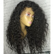 BOWIN 13x6 Peruvian Curly Lace Front Wigs 180% Density Human Hair Wigs Pre plucked Hairline with Baby Hair