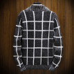 (Toponeto) Men's New Style Fashion Knitted Cardigan Sweater Coat Fashion Warm Sweaters