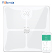 Yolanda Smart Body Weight Scale Health Electronic Scale Weight Scale Fatty Liver Risk Monitoring Bluetooth APP Control CS10C