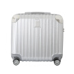 Luxury selection SHEXUAN caster trolley case 18 inch men and women business computer travel suitcase luggage box scratch-resistant wear-resistant chassis 7030 luxury silver