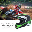 Light-weight ABS Outdoor Cycle Helmets Comfortable and Soft Motorcycle Helmet Motocross Racing Accessory