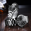 Aoni couple watch 8867 diamond glass calendar quartz watch gift table sales
