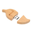 yvonne Wooden USB Flash Drive Leaf Shaped Pen Drive 64G Memory Stick Pendrives Gift