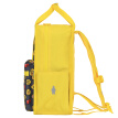 LEGO LEGO children's school bag casual backpack 3-5 years old backpack kindergarten homework bag leisure light parent-child bag small version men and women yellow 20127