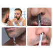 〖Follure〗Men Moustache Nose Hair Trimming Scissors Eyebrows Eyelashes Ear Hair Scissors