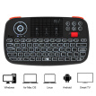 Rii i4 Mini Wireless Keyboard Bluetooth & 2.4GHz Dual Modes Handheld Fingerboard Backlit Mouse Touchpad Remote Control Compatible
