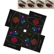 4 color diamond eye shadow makeup bright fashion beautiful glitter superposition eye shadow stage makeup