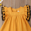 Toddler Baby Girl Summer Ruffle Sleeve Princess Dress Party Kids Clothes Dresses